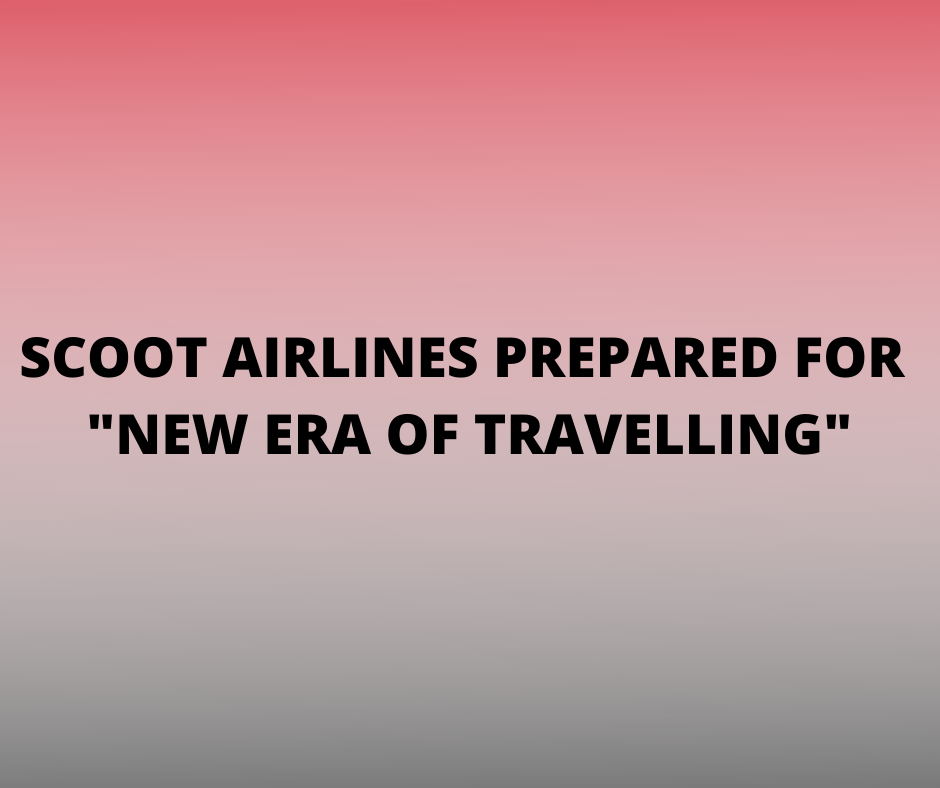 SCOOT Airlines prepared for